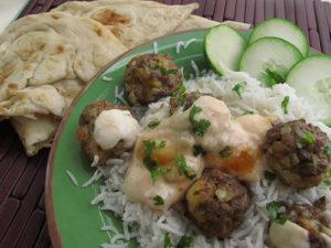 Mumbai Meatballs with Dipping Sauce - AvivaGoldfarb