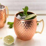 Modern Moscow Mules with Fresh Lime and Ginger