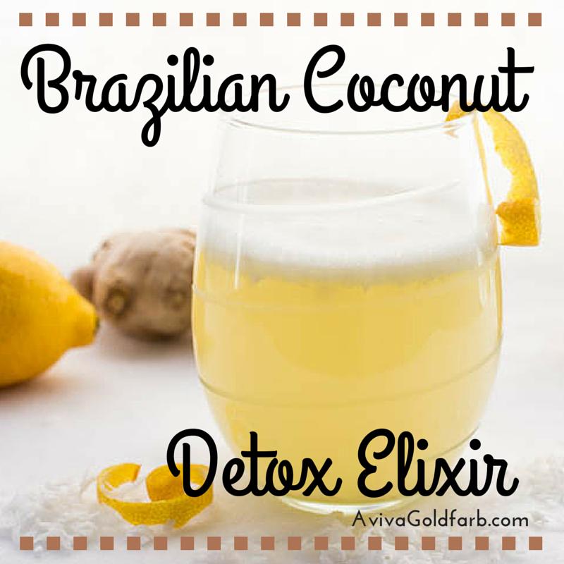 Brazilian Coconut Detox Elixir - AvivaGoldfarb.com
