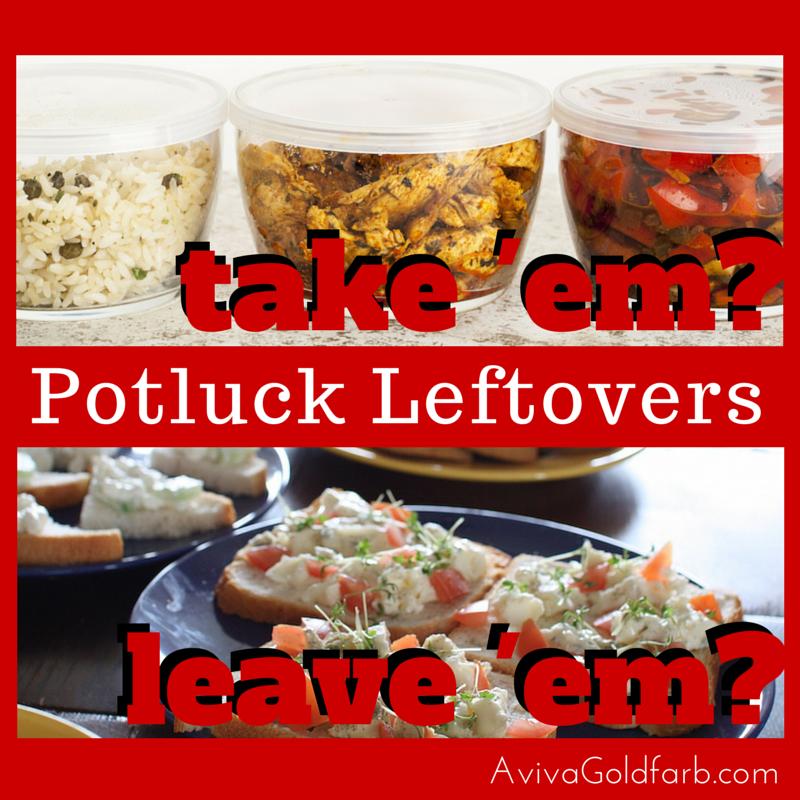 Potluck Leftovers Take Em Or Leave