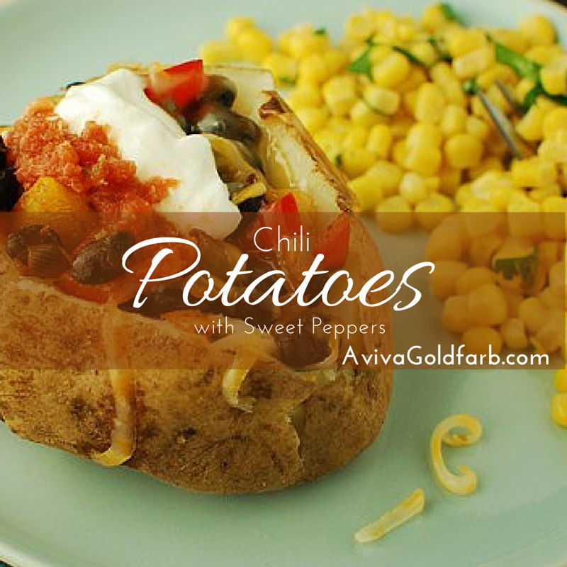 Chili Potatoes with Sweet Peppers - AvivaGoldfarb.com