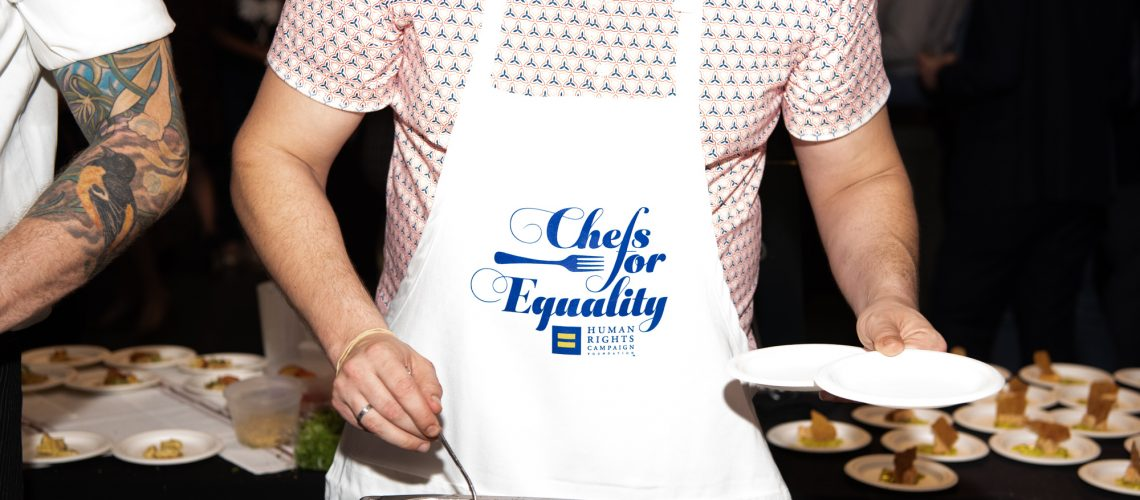 Event: Chefs for Equality, photo by Jeff Martin